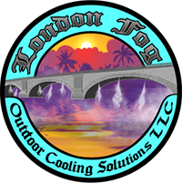London Fog Outdoor Cooling Solutions Logo